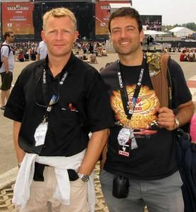 Erik Albæk Taasti og Erling Daell